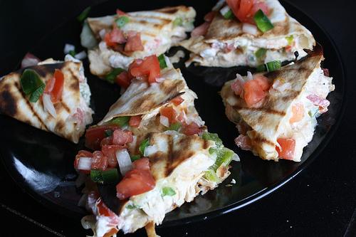 Grilled Quesadillas Recipe | BlogChef.net