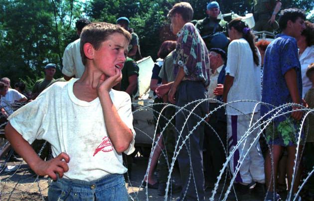 Serbia Mladic Charges