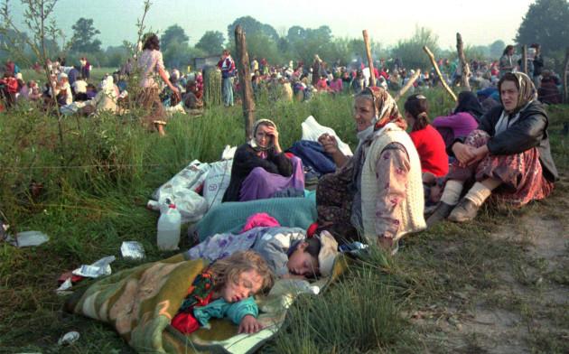 Yugoslavia Bosnia Serbia Karadzic Arrest