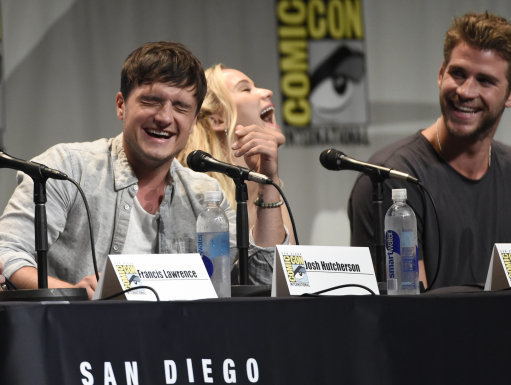 2015 Comic-Con - The Hunger Games: Mockingjay Part 2 Panel