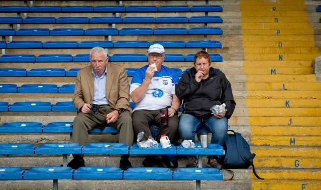 Waterford fans have an early lunch