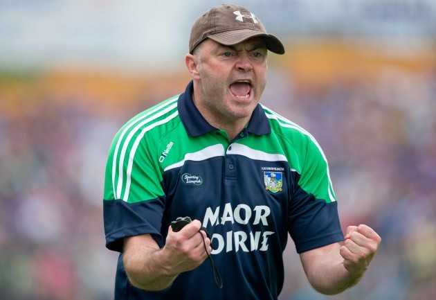 Anthony Daly on the sidelines for Limerick