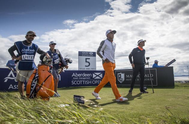 Golf - Scottish Open - Day Four - Gullane Golf Club