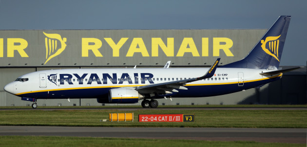 Stansted plane stock