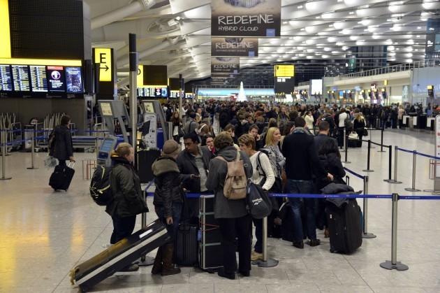Heathrow passenger numbers