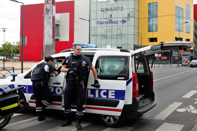 France Store Robbery