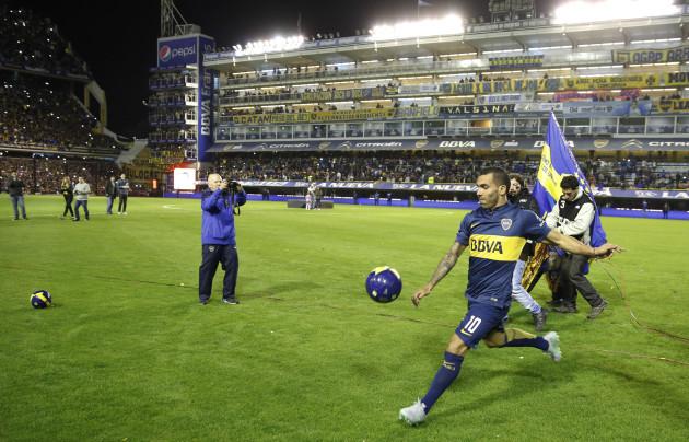 Argentina Tevez Back to Boca Juniors