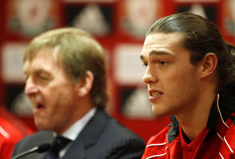 Soccer - Luis Suarez and Andy Carroll Unveiling - Anfield