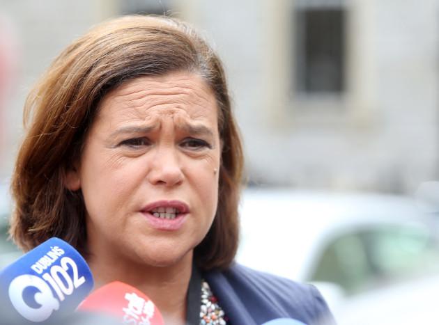 14/7/2015 Sinn Fein Finance Deputy Leader Mary Lou