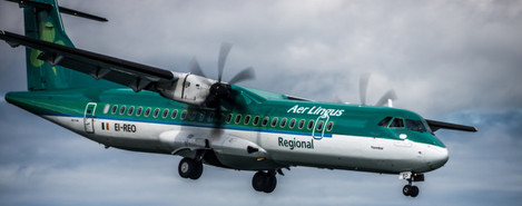 2012: Bray Air Display - Aer Arann Regional ATR 72 (Aer Lingus Colours)