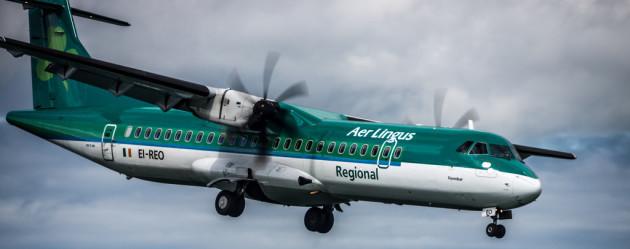 2012: Bray Air Display - Aer Arann Regional ATR 72 (Aer Lingus Colours)