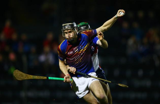 Ger Teehan tackles John McGrath