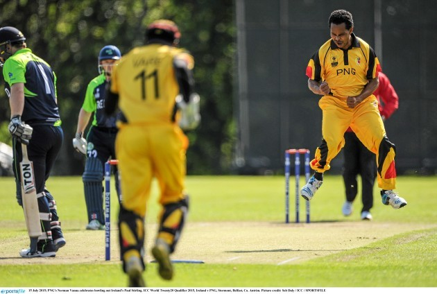 Ireland v PNG - ICC World Twenty20 Qualifier 2015
