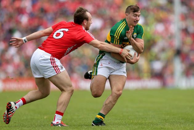 James O'Donoghue and Brian O'Driscoll