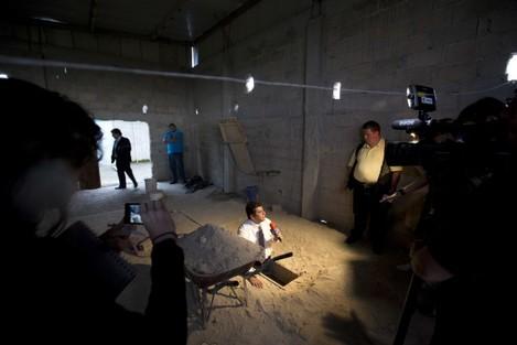 APTOPIX Mexico Drug Lord Escapes