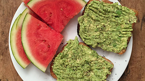 Avocado on toast is definitely my favourite breakfast!