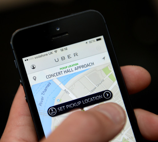 Uber suspended in France