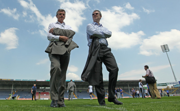 Colm O'Rourke and Joe Brolly