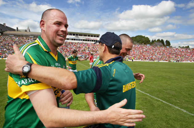 Michael Quirke and Kieran Donaghy