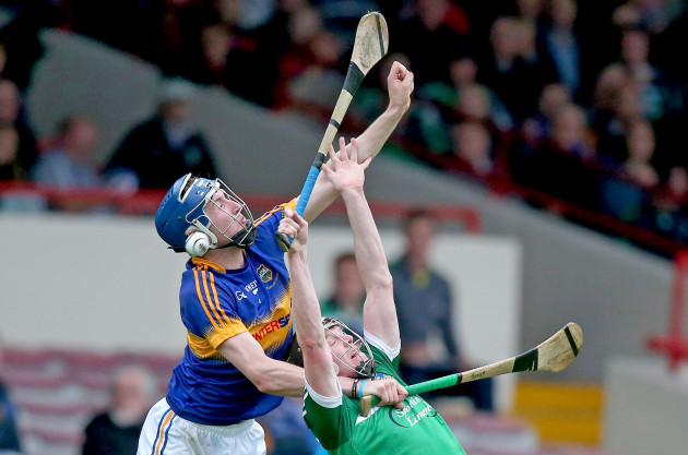 Kevin O'Brien with Tadgh Gallagher