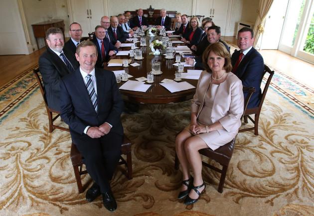 Irish Government cabinet reshuffle
