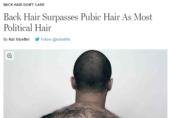 The Hair Back There – The New Inquiry |Hairy Back And Neck