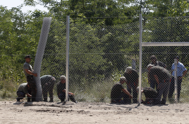 Hungary Anti Migrant Fence