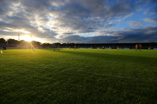 General view of Cusack Park, Ennis