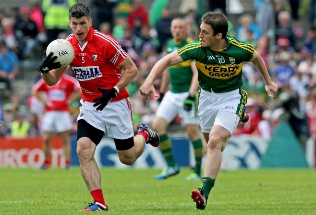 Barry O'Driscoll with Stephen O'Brien