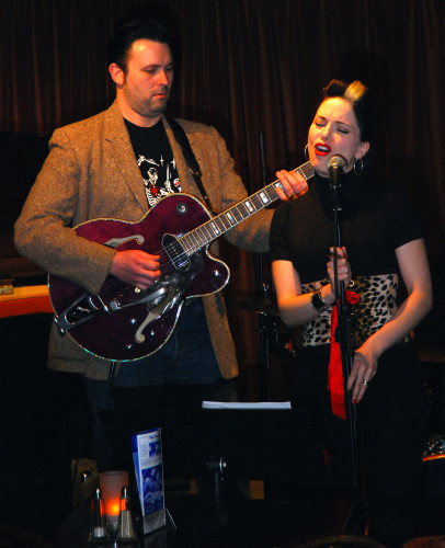 Imelda May live at the 606 Club - London