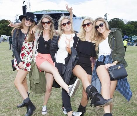 Revelers at Longitude 2015 in Marley Park. Picture: Tony Kinlan.