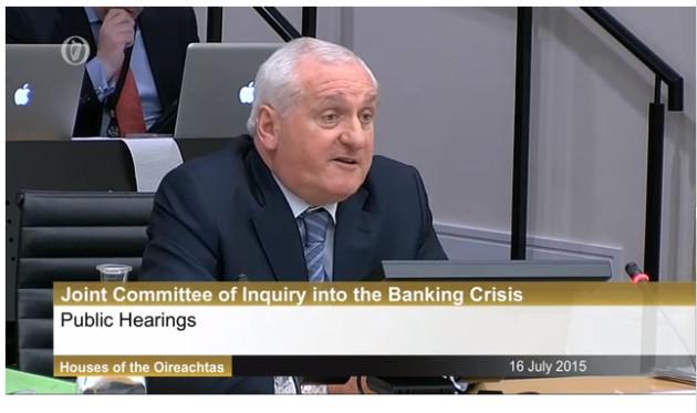 16/7/2015. Former Taoiseach Bertie Ahern at Leinst