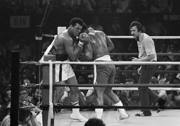 Thrilla In Manila Ali Frazier