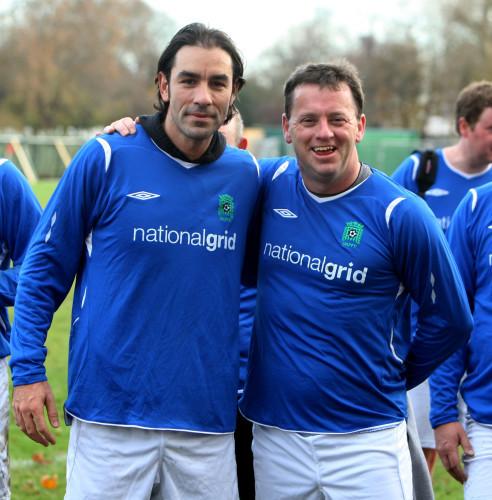 Soccer - Members of Parliament v Sports Media - London