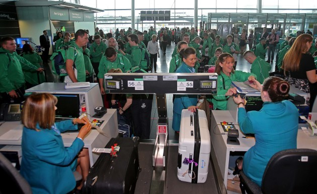 Special Olympics Team Ireland Departure to World Summer Games Los Angeles