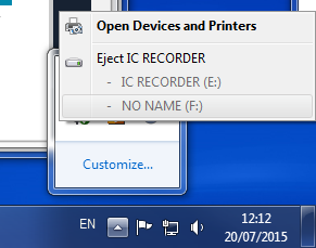 Eject USB