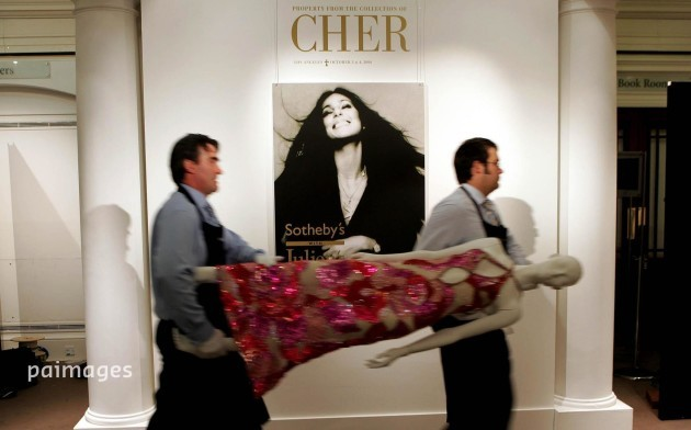 Cher auction at Sotheby's