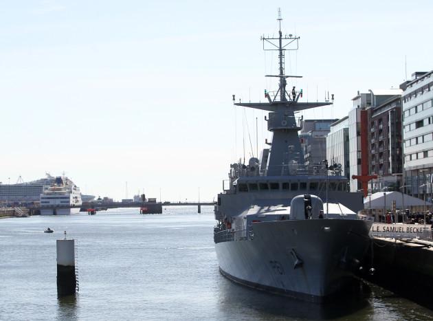 17/5/2014 Samuel Becket Irish Navy Ships Ceremonies