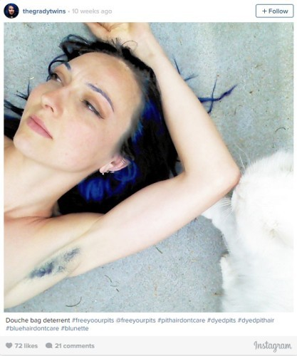 How Women Dyeing Their Armpit Hair Became A Trend For Summer 2015