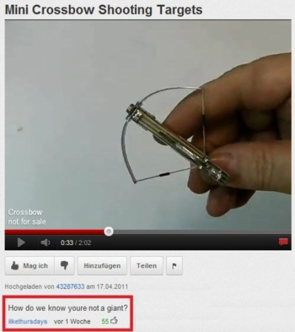17 of the greatest YouTube comments ever typed · The Daily Edge
