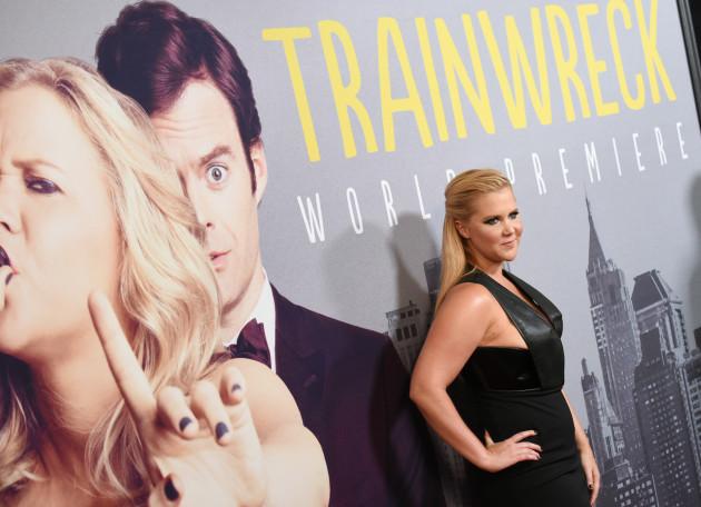 Trainwreck Premiere - New York
