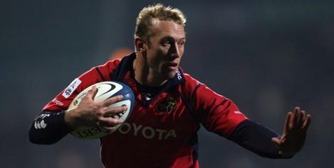 Anton Pitout of Munster 27/12/2005