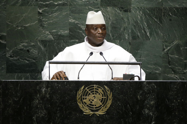 UN General Assembly Gambia