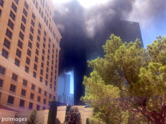 Las Vegas Strip Fire