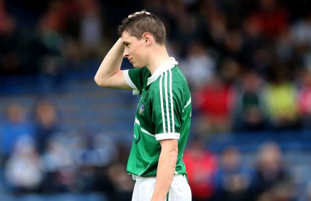 Barry Murphy dejected after the game