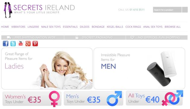 Adult sex shops online dublin dildo