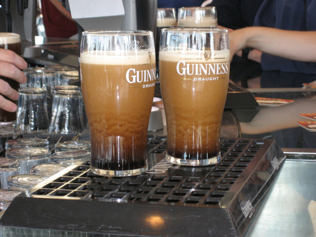 Guinness - Preparing to be Consumed