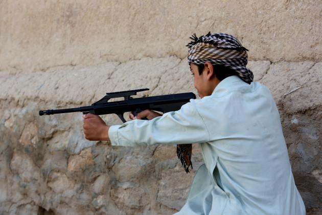 Afghanistan Toy Gun Ban