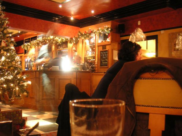 Pub at Christmas
