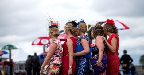 A view of Ladies ahead of today's racing